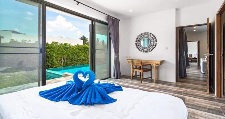 Modern 3 Bed Private Pool Villas in Peaceful Maenam-9