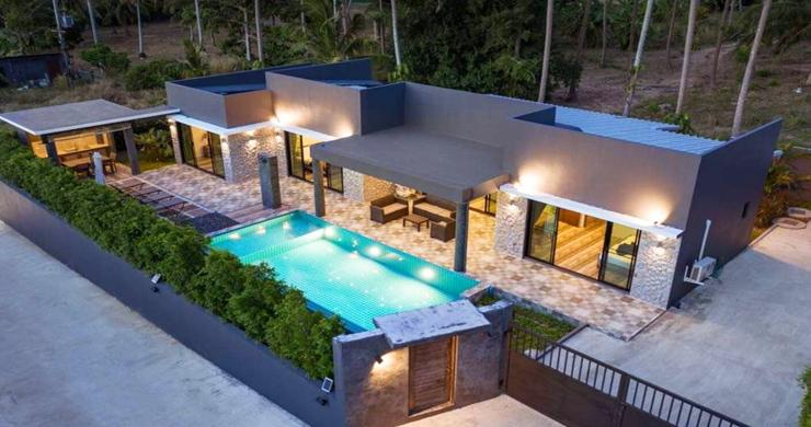 Modern 3 Bed Private Pool Villas in Peaceful Maenam-1