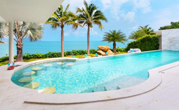 Ultra-Luxury Beachfront 4 Bed Villa on Plai Laem Bay
