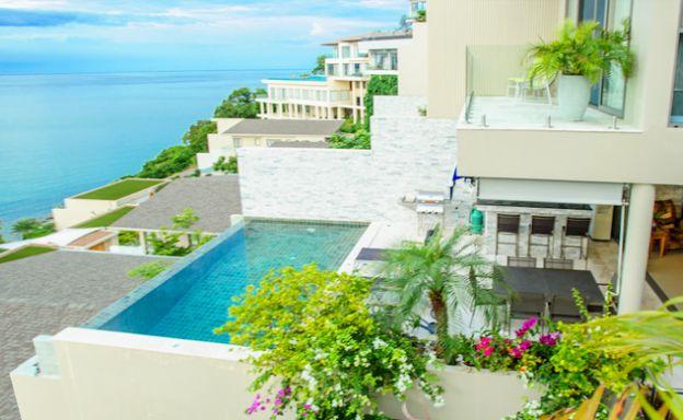 Bayside Luxury 5 Bed Sea view Villa on Plai Laem Bay