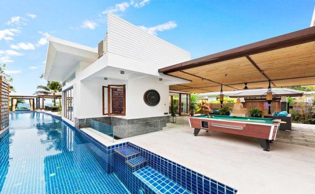Beachfront Luxury 5 Bed Villa on Pristine Bang Por