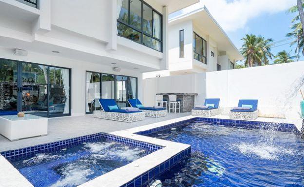 New 4 Bedroom Modern Sea view Villas in Plai Laem