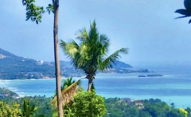 Prime Sea view Land for Sale on Chaweng Noi Hills
