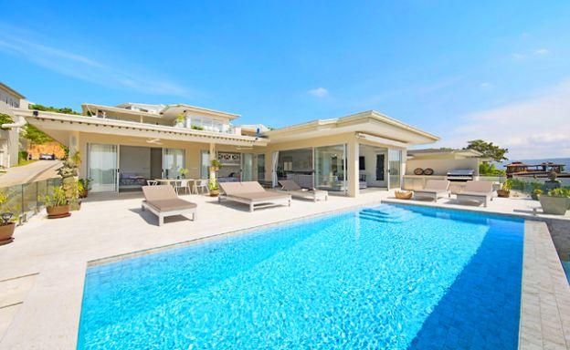 Contemporary 4 Bed Beachside Villa on Plai Laem Bay