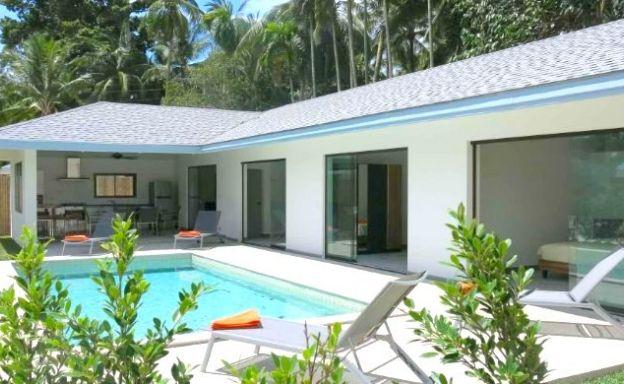 Modern 3 Bed Private Pool Villa in Peaceful Maenam