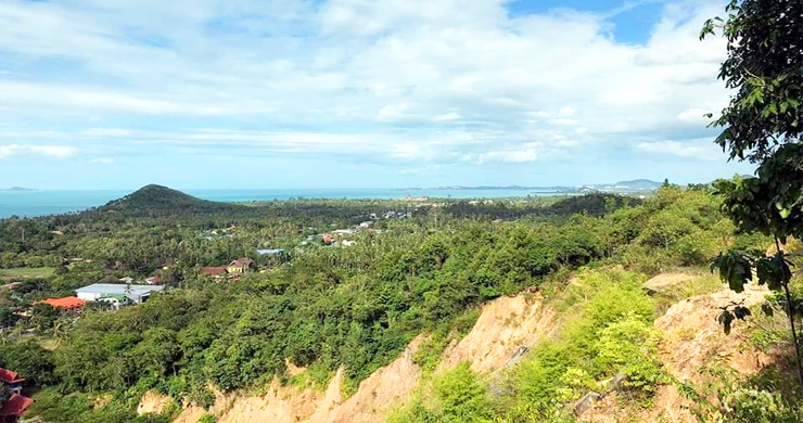 Panoramic Sea view Land for Sale on Ban Tai Hillside-2