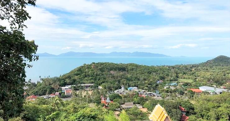 Panoramic Sea view Land for Sale on Ban Tai Hillside-4