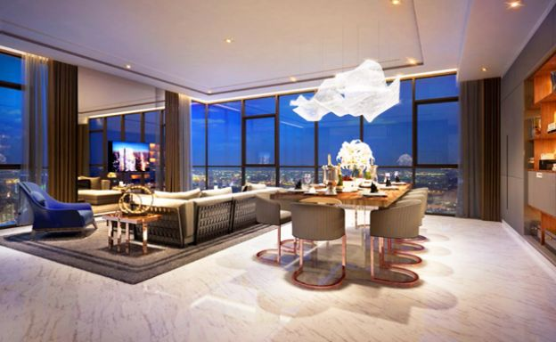 Monument Ultra-Luxury Penthouse Duplex in Thong Lor