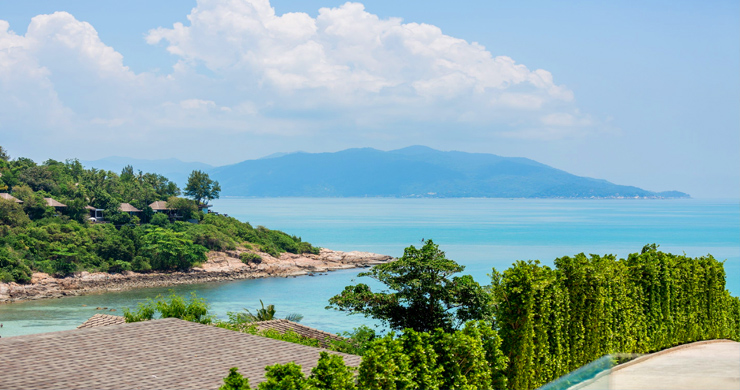 Sumptuous 4 Bed Sea view Villa by Plai Laem Beach-23