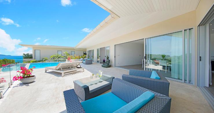 Sumptuous 4 Bed Sea view Villa by Plai Laem Beach-2
