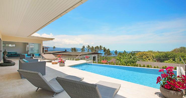 Sumptuous 4 Bed Sea view Villa by Plai Laem Beach-1