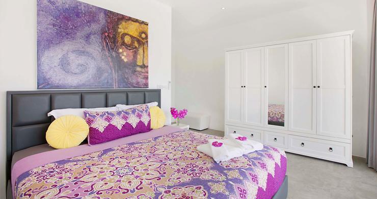 Sumptuous 4 Bed Sea view Villa by Plai Laem Beach-16