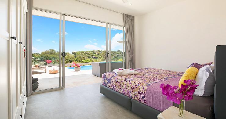 Sumptuous 4 Bed Sea view Villa by Plai Laem Beach-15
