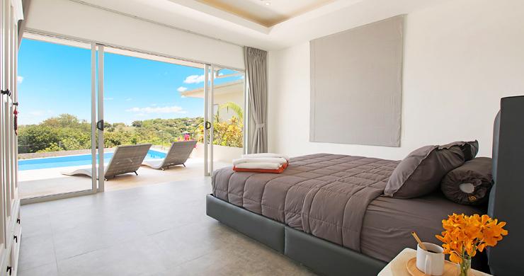 Sumptuous 4 Bed Sea view Villa by Plai Laem Beach-7