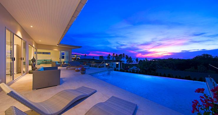 Sumptuous 4 Bed Sea view Villa by Plai Laem Beach-22