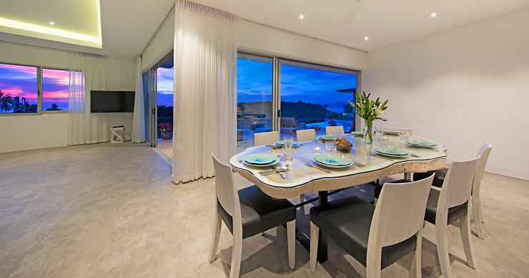 Sumptuous 4 Bed Sea view Villa by Plai Laem Beach-19