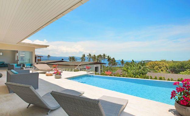 Sumptuous 4 Bed Sea view Villa by Plai Laem Beach