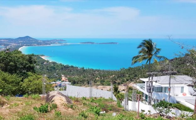 Premium Sea view Land in Exclusive Chaweng Noi Hills