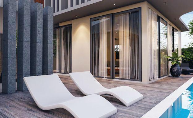 Modern 2 Bed Pool Duplexes Close to Ban Kao Beach