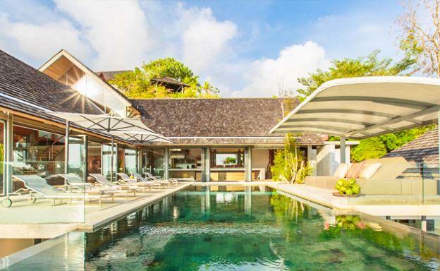 Ultra Luxury 5 Bed Oceanfront Pool Villa on Kamala Bay
