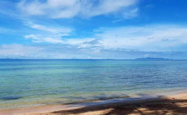 Beautiful beachfront Land for Sale on Laem Yai Bay