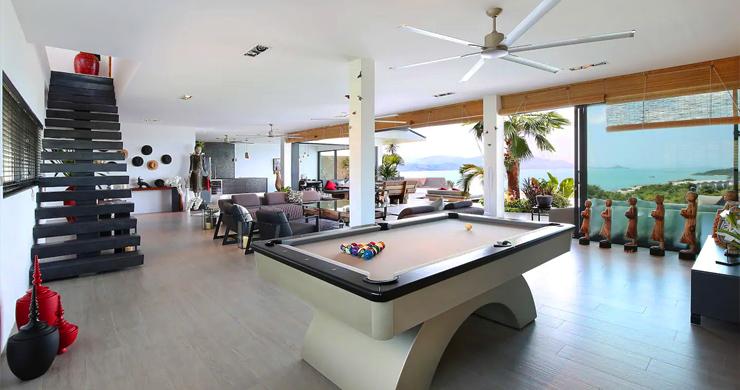 Palatial 8 Bed Luxury Pool Villa by Plai Laem Beach-17