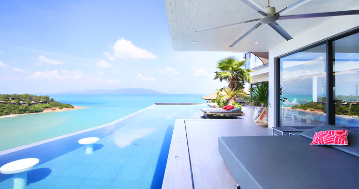 Palatial 8 Bed Luxury Pool Villa by Plai Laem Beach-2