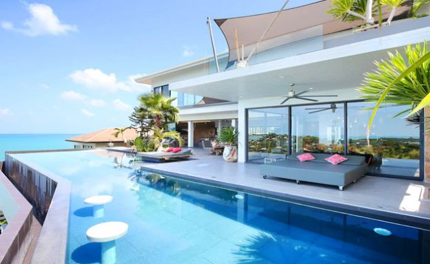 Palatial 8 Bed Luxury Pool Villa by Plai Laem Beach