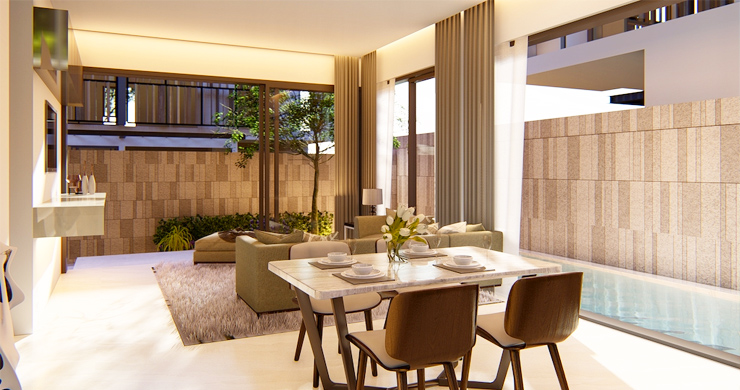 Modern 2 Bedroom Pool Villas Near Ban Kao Beach-3