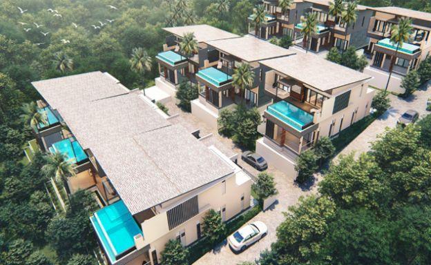 New 3 Bed Seaview Villas Close to Fisherman's Village