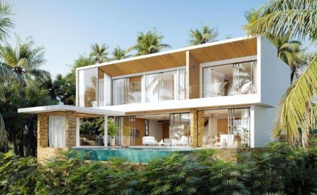 Striking 3 Bed Luxury Sea View Villas in Chaweng Noi