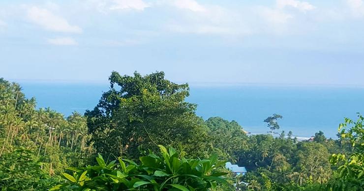 Premium Sea view Land Plot for Sale on Lamai Hills-2