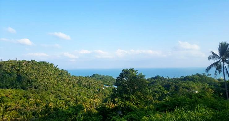 Premium Sea view Land Plot for Sale on Lamai Hills-3