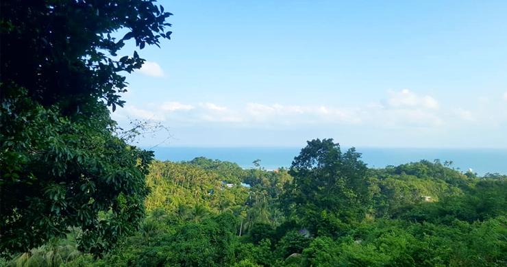 Premium Sea view Land Plot for Sale on Lamai Hills-4