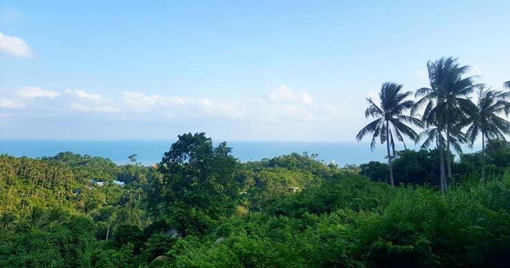Premium Sea view Land Plot for Sale on Lamai Hills-8