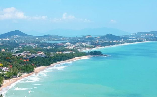 Pristine Panoramic Sea view Land in Chaweng Noi