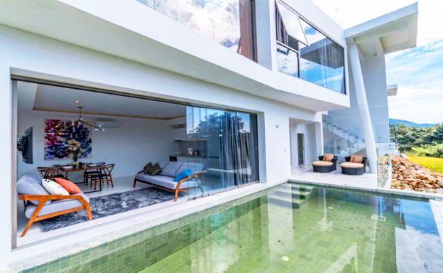 Luxury 2 Bedroom Sea View Villa in Koh Phangan Hills
