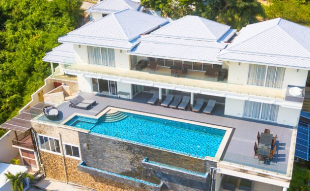 Luxury 6 Bed Sea View Villa for Sale in Choeng Mon