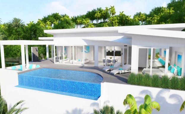 Contemporary 3 Bed Luxury Villas for Sale in Bophut