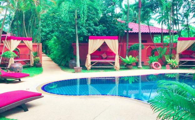 Boutique Villa Resort for Sale in Peaceful Maenam