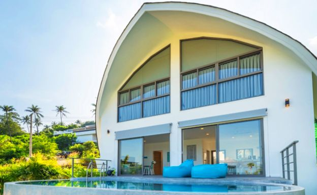 Modern 1-2 Bed Sea view Villas for Sale in Chaweng Noi