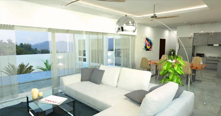 Modern 2-3 Bedroom Luxury Villas for Sale in Maenam-2
