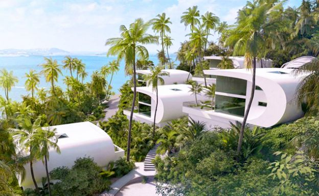 Luxury 3 Bedroom Seaview Villas on Chaweng Noi Hills