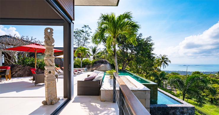 Gorgeous 5 Bed Luxury Sea view Villa in Taling Ngam-4