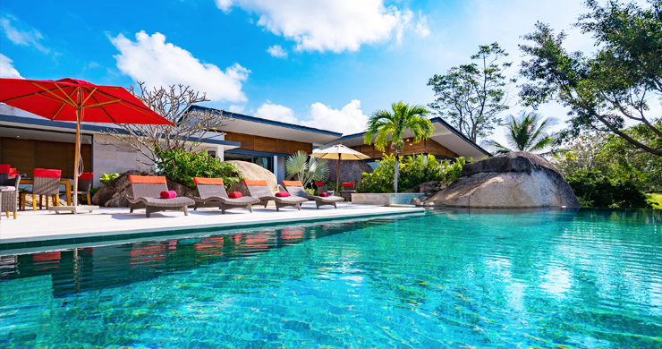 Gorgeous 5 Bed Luxury Sea view Villa in Taling Ngam-2
