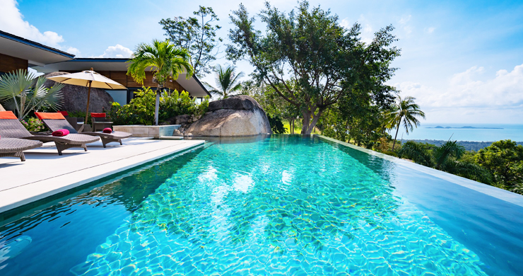 Gorgeous 5 Bed Luxury Sea view Villa in Taling Ngam-9