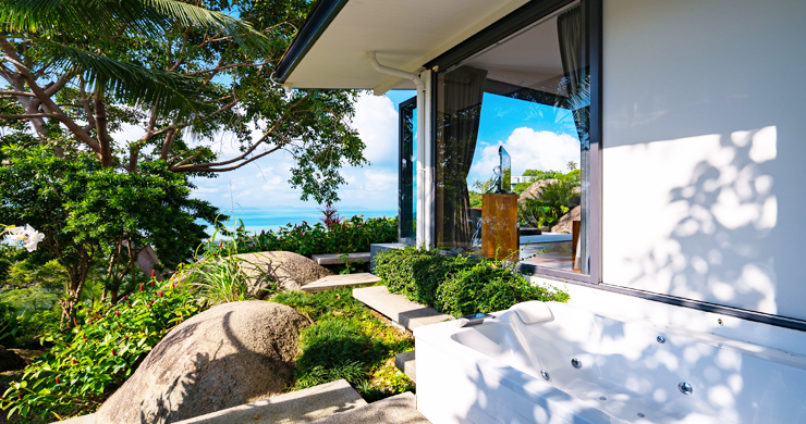 Gorgeous 5 Bed Luxury Sea view Villa in Taling Ngam-17