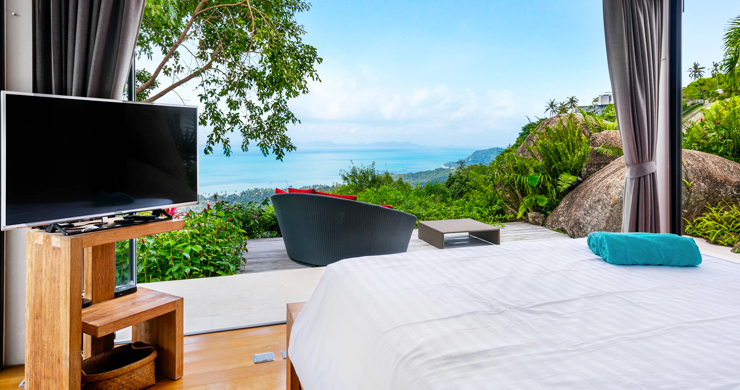 Gorgeous 5 Bed Luxury Sea view Villa in Taling Ngam-19