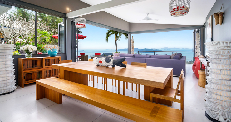 Gorgeous 5 Bed Luxury Sea view Villa in Taling Ngam-13