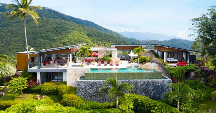 Gorgeous 5 Bed Luxury Sea view Villa in Taling Ngam-1